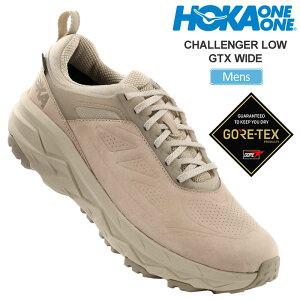 【正規取扱店】ホカオネオネ HOKA ONE ONE スニーカー メンズ チャレンジャーローゴアテックス ワイド 2E オックスフォードタン 26-28cm CHALLENGER LOW GTX WIDE 1106519 20FW snk【靴】2008wannado