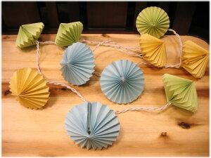カラフル菱形のクリーパーランプ(青・黄緑・黄)