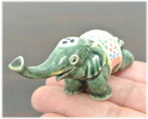陶器製ゾウのお香立て