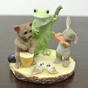 カエルクマウサギイースター野菜バンド