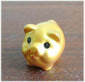 ミニミニ金豚の置物