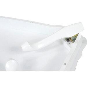 折り畳み猫脚センターテーブル[ホワイト]