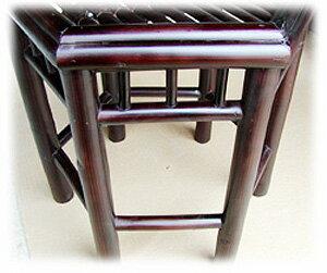 アジアンバンブー家具バンブー六角スツール