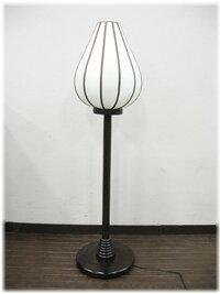 アジアン照明ロータスMスタンドランプ(ウッドM)