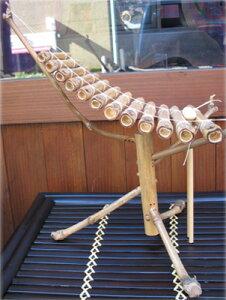 アジアン雑貨組立式の竹琴♪