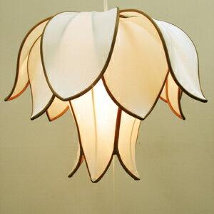 アジアン照明つぼみフラワー天井照明