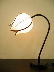 アジアン照明つぼみテーブルスタンドライト