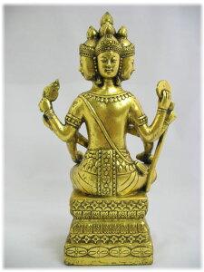アンティーク風黄金の仏像