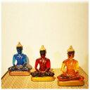 【スケルトン仏陀[青・黄・赤]】仏像 置物 販売 フィギュア...