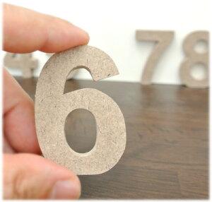 ウッデンレター数字(1〜0)