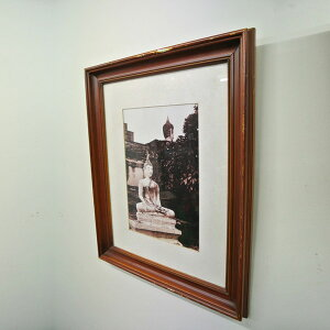 アユタヤ遺跡写真壁掛け