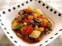鶏レバーと緑黄色野菜のラタトゥユソース