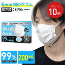 【翌日発送】TERUKA 使い捨てマスク 個包装 200+4枚 175mm 大きめ マスク 大人用 男性用 女性用 マスクゴム プリーツ 不織布マスク 送料無料 メルトブローン フィルター ほこり ウイルス 花粉対策 飛沫防止 防護マスク 1