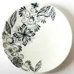 砥部焼き和将窯の大皿「HANA-花」