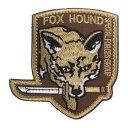 ベルクロワッペン メタルギアソリッド Fox Hound 盾...