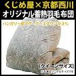 【送料無料】 日本製 羽毛布団 クイーン ハンガリー産 シルバーマザーグース93%・蓄熱羽毛布団 クイーン:210×210cm 日本製 西川 掛け布団 日本製