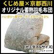 【送料無料】 日本製 羽毛布団 セミダブル ハンガリー産 シルバーマザーグース93%・蓄熱羽毛布団 セミダブル:170×210cm 日本製 西川 掛け布団 日本製