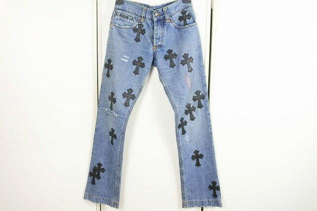 メンズファッション, ズボン・パンツ USEDCHROME HEARTS 44 32065 RCP