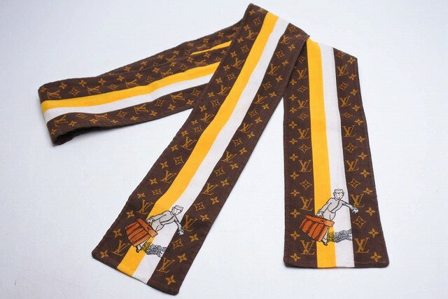 マフラー・スカーフ, ツイリースカーフ USEDLOUIS VUITTON 19115RCP