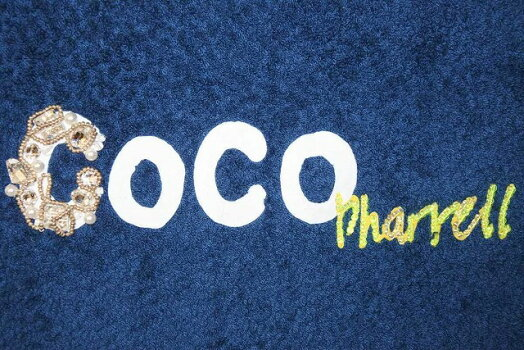 ◆[USED/中古]◆送料無料◆【新同】CHANEL×Pharrellカプセルコレクションシャネル×ファレルロゴバッグネイビー新品同様【中古】【RCP】