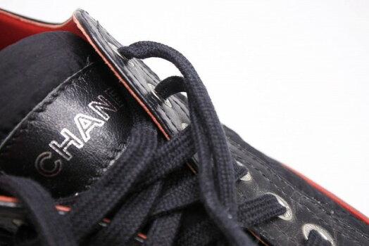 ◆[USED/中古]◆送料無料◆【美品】CHANELシャネルスニーカーナイロンレザーキルティング36レディース靴美品16000【中古】【RCP】