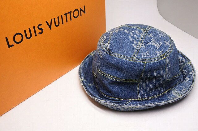 メンズ帽子, ハット USED LOUIS VUITTON nigo 58 RCP