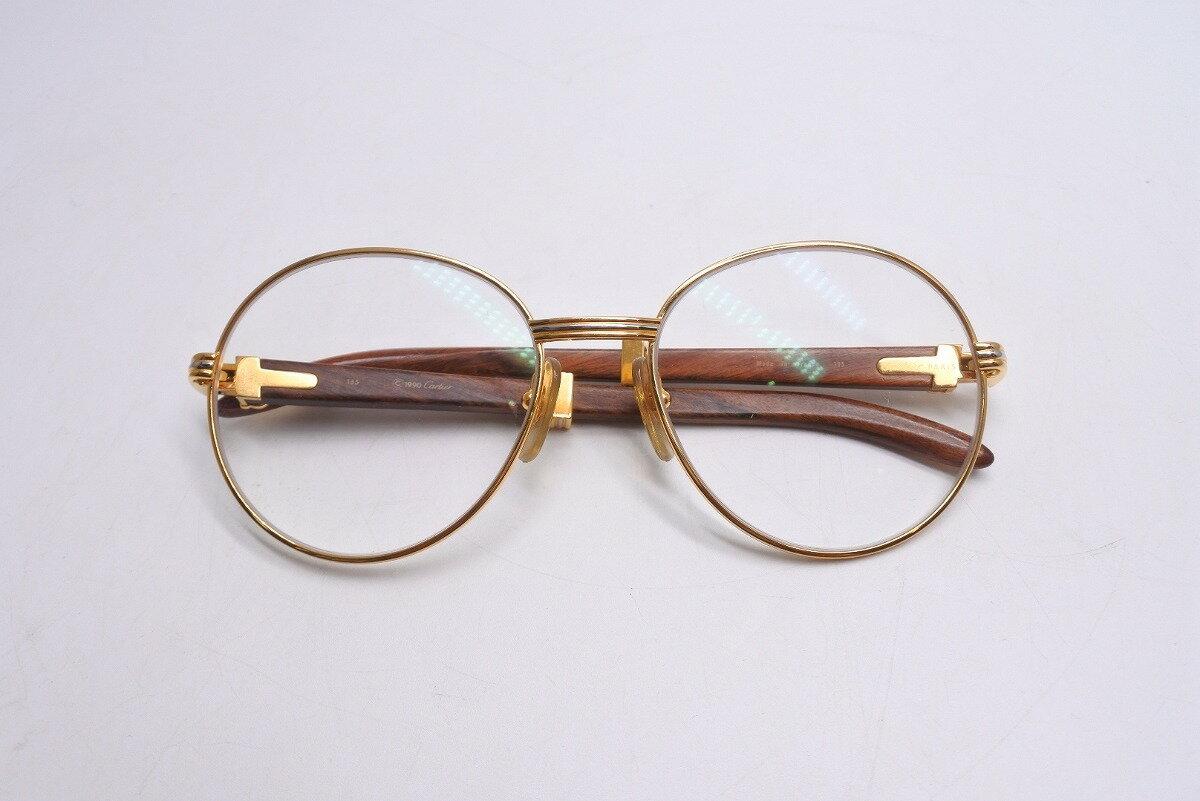 眼鏡・サングラス, 眼鏡 USEDCARTIER 135 1990 5518 RCP