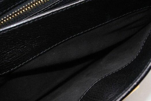 ◆[USED/中古]◆送料無料◆TOMFORDトムフォードクラッチバッグブラックゴールド中古美品レディース◆【RCP】【中古】