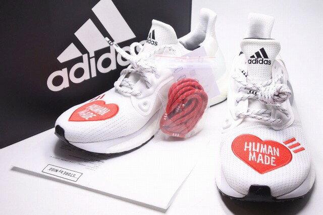 メンズ靴, スニーカー USED 26.5cm adidas Pharrell Williams HUMAN MADE EG1837 RCP