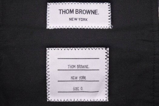 ◆[USED/中古]◆送料無料◆THOMBROWNEトムブラウンスラックスパンツグレー定番トリコロール中古美品9867【RCP】【中古】
