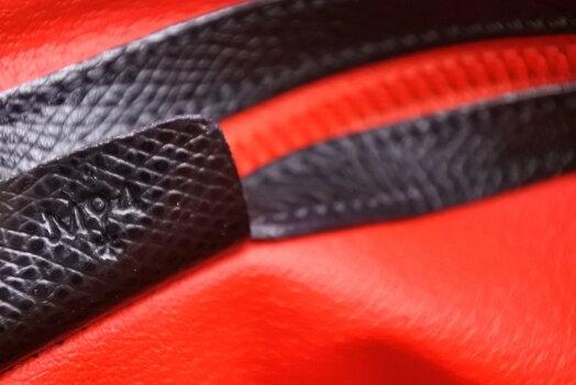 ◆[USED/中古]◆送料無料◆【美品】CELINEセリーヌ2WAYボリード型ブラックレッドヴィンテージハンドバッグ美品11842【RCP】【中古】