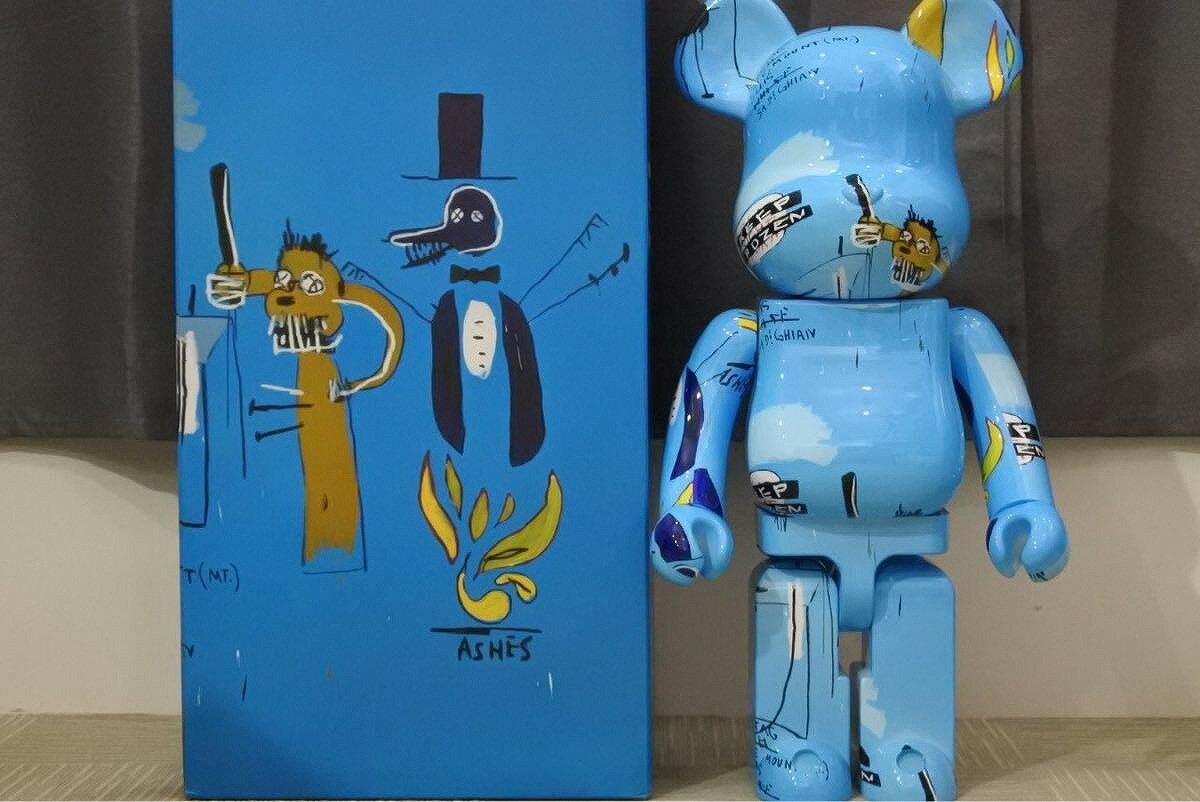 ぬいぐるみ・人形, ぬいぐるみ USED BERBRICK JEAN-MICHIEL BASQUIAT 4 1000 10972RCP
