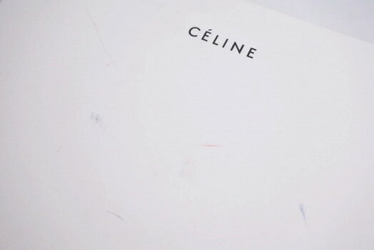 ◆[USED/中古]◆送料無料◆【美品】CELINEセリーヌ長財布マルチファンクションバイカラーグレーライムグリーン箱付き美品14191【RCP】【中古】