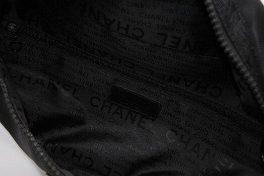 ◆[USED/美品]◆送料無料◆シャネルCHANELスポーツラインウエストバッグブラック◆【RCP】【中古】◆