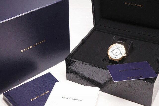 腕時計, 男女兼用腕時計 USEDRALPH LAUREN RL888 38MM 18KPG 2017 QZ 1182600 22349RCP