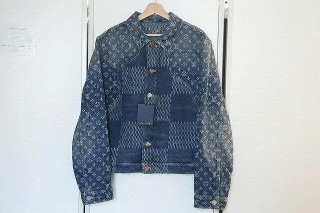 メンズファッション, コート・ジャケット USEDLouis Vuitton nigo 50 denim jacket RCP