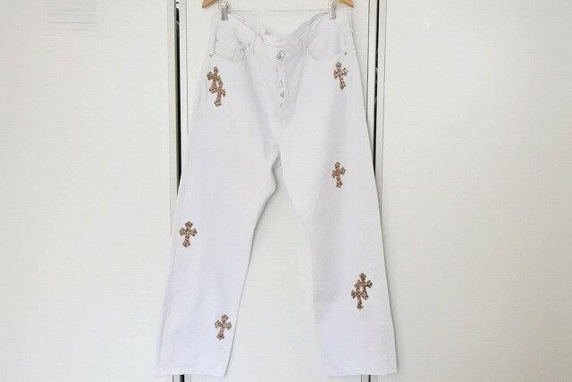 メンズファッション, ズボン・パンツ USEDCHROME HEARTS 40 RCP