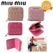Miumiuマトラッセ2つ折財布ブランドギフトプレゼントレディースファッション小物雑貨