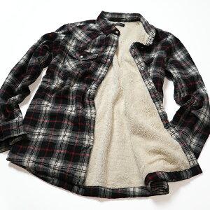 ネルシャツ メンズ 裏ボア ネルシャツ 長袖 裏ボアフランネルシャツ メンズ フランネルシャツ チェックシャツ 裏ボア ジャケット 無地シャツ ブラック ネイビー 裏ボア ジャケット 柄シャツ ネル ネルシャツ フランネル チェックネル チェック柄 メンズ