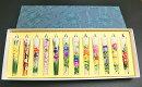 定番四季の花3号絵ろうそく12本入(手描き)絵ローソク和ろうそく仏具