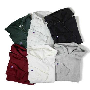 CHAMPIONチャンピオンリバースウィーブプルオーバースウェットシャツS1051USA流通モデルヘヴィーウエイトパーカーREVERSEWEAVEPULLOVERHOODIEGREY/BLACK/ASH/WHITE/DARKGREEN/MAROON