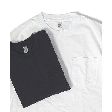 LOSANGELESAPPARELロサンゼルスアパレル6.5オンスガーメントダイポケットTシャツ半袖ポケT無地厚手LAAPPAREL6.5OZS/SGARMENTDYESHORTSLEEVEPOCKETT-SHIRTMADEINUSA