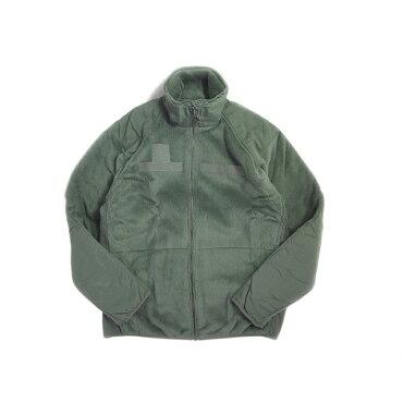 DEADSTOCKデッドストックアメリカ軍フリースジャケットフォリアージグリーンECWCSGEN3LEVEL3FLEECEJACKET