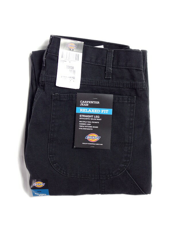 メンズファッション, ズボン・パンツ DICKIES RELAXED FIT STRAIGHT LEG CARPENTER DUCK JEANS