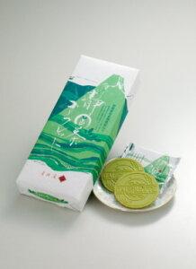 静岡茶のほのかな苦味と甘さを、ゴーフレットで包みました。(ゴーフレット/静岡/菓子/お土産/...