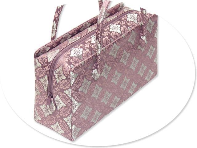西陣織金襴オリジナル和装バッグ「利休バック」me109
