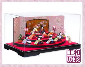 ひな人形 コンパクト おしゃれ ひな祭り ミニチュア リュウコドウ インテリア