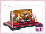 ひな人形 コンパクト 桃の節句 ひな祭り ミニチュア リュウコドウ