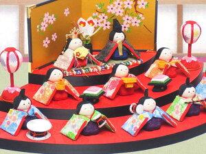 京都和彩工房オリジナルセット【京都の手作り 雛人形 ひな人形 お雛様】-笑顔の感想が寄せられ...