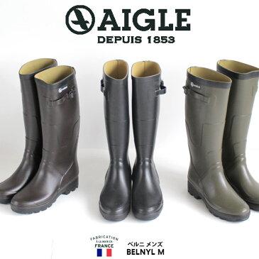 AIGLE エーグル ベニル メンズ レインブーツ 長靴 ロング 8578 BENYL ラバーブーツ